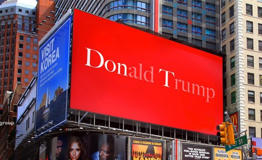 Donald Trump billboard